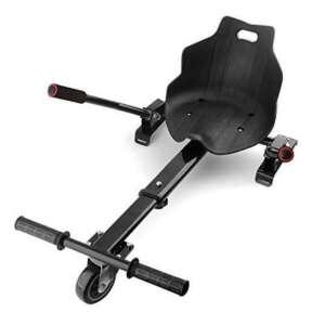 """Auto-équilibrage hovercart go voiture siège hoverkart pour 6.5 """"8"""" 10 """"auto-équilibrage scooter (noir) de la marque image 0 produit"""