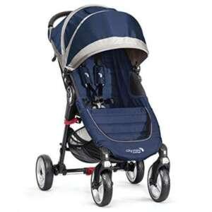 Baby Jogger Poussette City Mini 4Chariot Traditionnel 1siège (s) Bleu, Gris (Chariot traditionnelle, 60mois (es), 1siège (s), bleu, gris, plat, roues gonflables) de la marque Baby Jogger image 0 produit