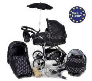Baby Sportive - Landau pour bébé + Siège Auto - Poussette - Système 3en1, incluant sac à langer et protection pluie et moustique - Twing de la marque Baby Sportive image 0 produit