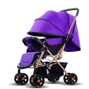 BBZZZ-bike Poussette jumeaux pouvez vous asseoir pour doubler la taille du bébé Enfants Trolley Bidirectionnel Shock Folding Side By Side Plié Matériel de protection de l'environnement de la marque BBZZZ image 0 produit
