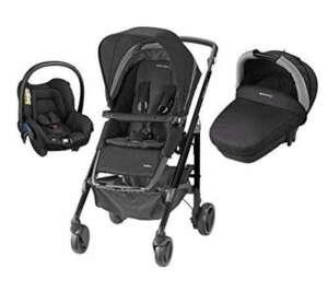 bébé confort Trio Loola3 Poussette Combinée Black Crystal de la marque Bébé Confort image 0 produit