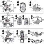 bebebi | modèle bellami | Isofix Base & siège auto–Poussette combi 3en 1–Pneus | couleur: de la marque Bebebi image 5 produit