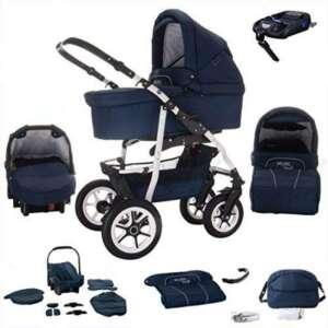bebebi | modèle bellami | Isofix Base & siège auto–Poussette combi 3en 1–Pneus | couleur: de la marque Bebebi image 0 produit