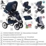 bebebi | modèle bellami | Isofix Base & siège auto–Poussette combi 3en 1–Pneus | couleur: de la marque Bebebi image 3 produit