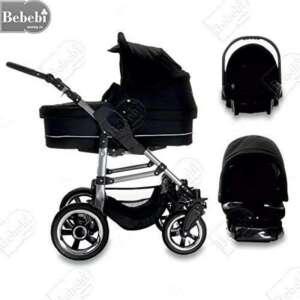 Bebebi | Modèle London | ISOFIX base & siège d auto | 3 en 1 poussette Set | roue en airr de la marque Bebebi image 0 produit