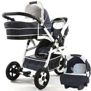 Chariot double (Gemelar) enfants différents âges. 2chaises + 1panier + 1Portabebe + accessoires. de la marque BBtwin image 0 produit