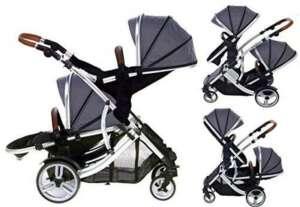 Châssis KidzKargo Duellette 21BS jumeau double Poussette Buggy Poussette tout NEUF Couleur Gamme. de la marque Kids Kargo image 0 produit