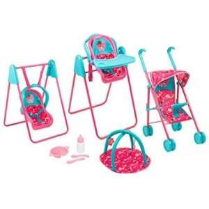 Disney Docteur Play & Go Set de voyage Filles jouet Poupées Landau Chaise haute Swing de la marque Doc McStuffins image 0 produit