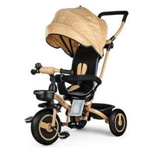 Fascol Tricycle Bébé Evolutif Pliable Poussette avec Canne pour Enfant 6 Mois à 5 Ans Vélo et Véchicule de la marque Fascol image 0 produit