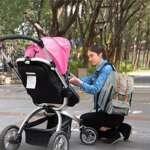HapTim Sac à dos à langer bébé multifonctions grande capacité bébé sac à couches sac à dos, conception de double pont, mode cool Kid / bébé voyage sac à dos(EU5312gris) de la marque Hap Tim image 6 produit
