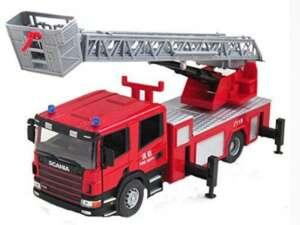Ingénierie Véhicule Jouet Transport, Double Ladder, No Sound And Light de la marque Blancho image 0 produit