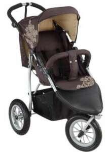 knorr-baby Joggy S Poussette trois roues «Happy Colour» avec capote pour dormir de la marque knorr-baby image 0 produit
