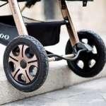 Lightweight Bébé Poussette,Folding Réglable Infantile Bébé Jogger Pram Poussettes Avec Panier De Rangement,Pour Les 0-36 Mois de la marque D&L image 3 produit