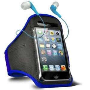 ONX3 Samsung Galaxy Star Trios S5283 réglable Sport Fitness Jogging Arm Band Case & 3,5 In Ear intra-auriculaires écouteurs de base (bleu) de la marque ONX3® image 0 produit