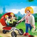 Playmobil 5573 - Jeu De Construction - Maman Avec Jumeaux Avec Landau de la marque Playmobil image 2 produit