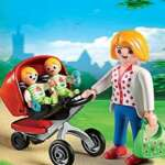 Playmobil 5573 - Jeu De Construction - Maman Avec Jumeaux Avec Landau de la marque Playmobil image 3 produit