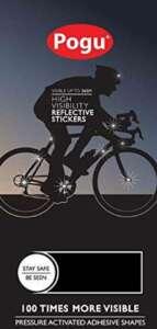 Pogu 3M Scotchlite Réflecteurs pour poussette Autocollants discrets Noir/bande réfléchissante blanc de la marque Pogu image 0 produit