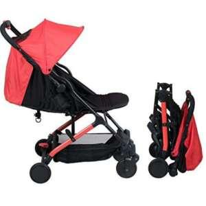 Poussette bébé compacte naissance YUKO (Rouge) de la marque BAMBISOL image 0 produit