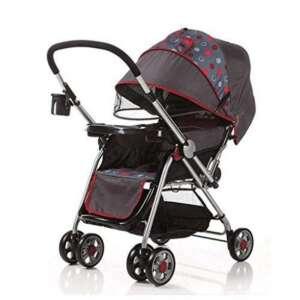 Poussette bébé peuvent reposer les chariots inclinables GAOLILI (Couleur : Rouge) de la marque Poussette bébé image 0 produit