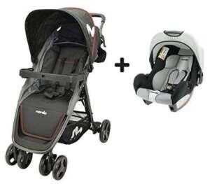 poussette bébé poussette combiné siège auto TOP 1 image 0 produit