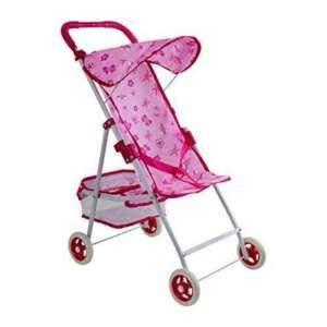 Poussette canne pour poupées - Coloris rose - 60 cm x 48 cm de la marque Legler image 0 produit
