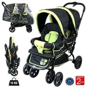 poussette double bébé et enfant TOP 4 image 0 produit