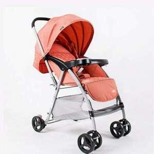 Poussette ERRU légères ultra-légère de bébé peut s'asseoir inclinables Chariot d'enfant parapluie voiture Chariots de bébé bleu Orange Purple Buggy citadines de la marque Poussette image 0 produit