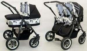 poussette jumeaux nacelle TOP 1 image 0 produit