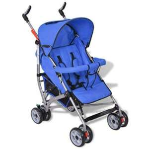 Poussette pour bébé inclinable en 5 positions en bleu de la marque Decorush image 0 produit