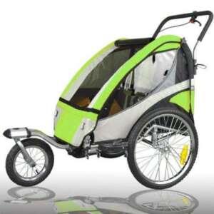 Remorque vélo avec remorque vélo tout suspendu joggerfunktion exclusiv 504S - 02 de la marque Tiggo image 0 produit