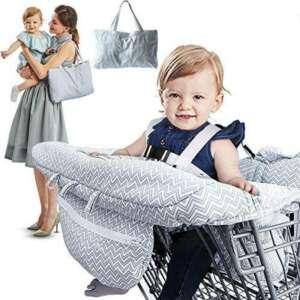 RUZINIU Bébé Shopping Cart couvrir en imprimé Elégant et confortable Housse de coussin protection de l'enfance de la marque RUZINIU image 0 produit