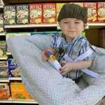 RUZINIU Bébé Shopping Cart couvrir en imprimé Elégant et confortable Housse de coussin protection de l'enfance de la marque RUZINIU image 4 produit