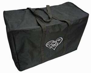 Sac de transport Elternstolz noir pour poussettes et sièges enfant, p. ex. pour modèle Joie Litetrax de la marque Elternstolz image 0 produit