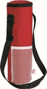 Sac isotherme noTrash2003 avec sangle de transport - Pour une bouteille de 1,5litre - Pour porter les bouteilles et le vin lors de pique-nique Rot de la marque noTrash2003® image 0 produit