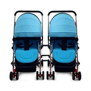 SI YU Chariot bébé Highland Lumière détachable Suspension Double poussette Poussette pour nouveau-né ( Color : Bleu ) de la marque SI YU image 0 produit