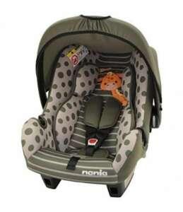 Siège auto bébé de 0 à 13 kg - Fabrication 100% Française - 4 étoiles Test TCS - 4 coloris - Protections latérales - Cale tête et assise rembourrés. de la marque Mycarsit image 0 produit