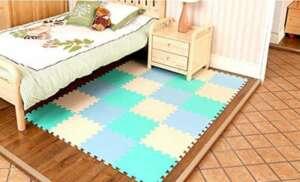 Tianmei le style bleu pacifique Tapis de Jeux & d'Eveil Tapis de jeu en mousse tapis Puzzle Ensemble de 10 tapis mousse de sol de la marque Tianmei image 0 produit