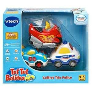 VTech A1303731 - Jouet De Premier Âge - Coffret Trio Police - Véhicules Tut Tut Bolide - Couleurs aléatoires de la marque VTech image 0 produit