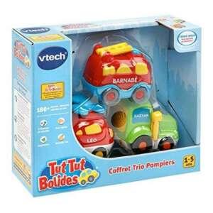 VTech Tut Tut Bolides - 80-205805 - Coffret Trio Pompiers : LEO + GAETAN + BARNABE - Modèle aléatoire de la marque VTech image 0 produit