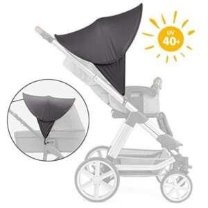 Zamboo Poussette Protection solaire universel–Baby Pare-Soleil pour poussette & Poussette | XL Pop Up–Parasol avec protection UV 40+ et sac–Gris de la marque Zamboo image 0 produit